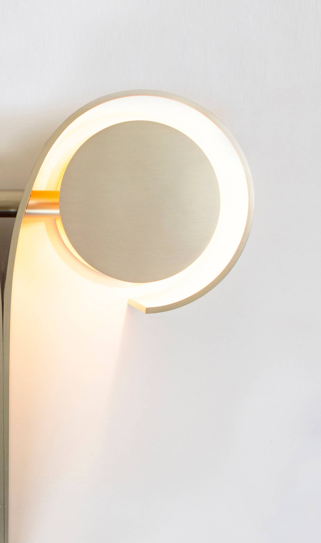 Plated Contemporary 'Khnum' Sconce by Material Lust, 2015