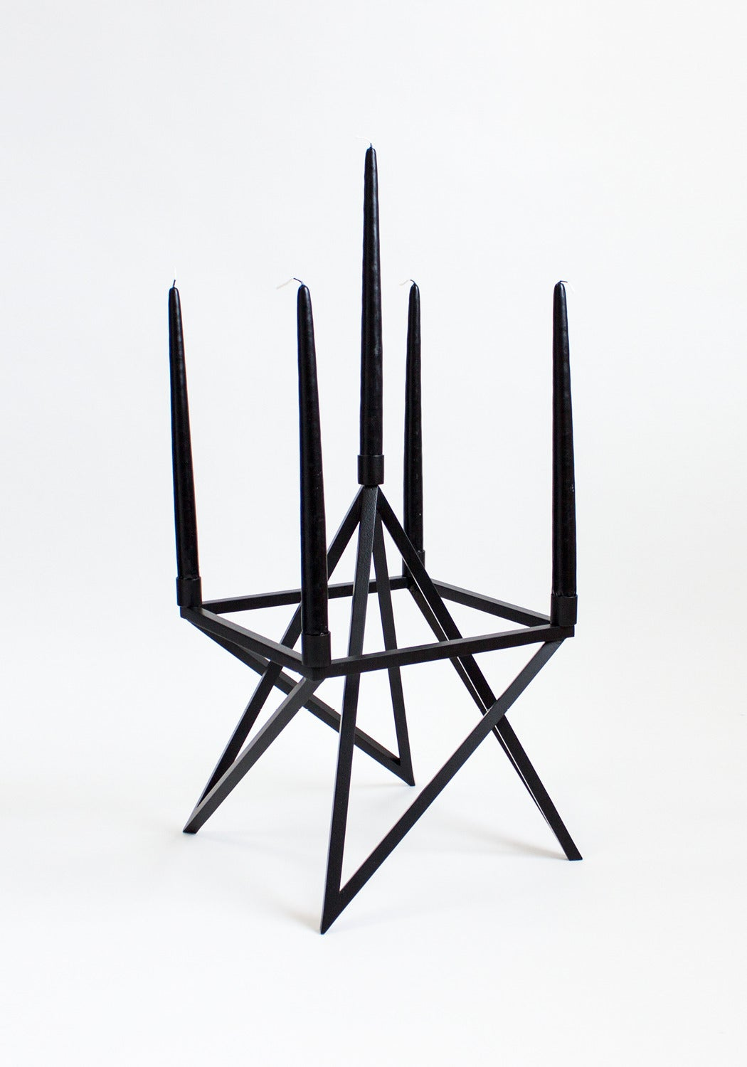 Contemporary Black 'Pagan' Star Candelabra by Material Lust, 2016 5