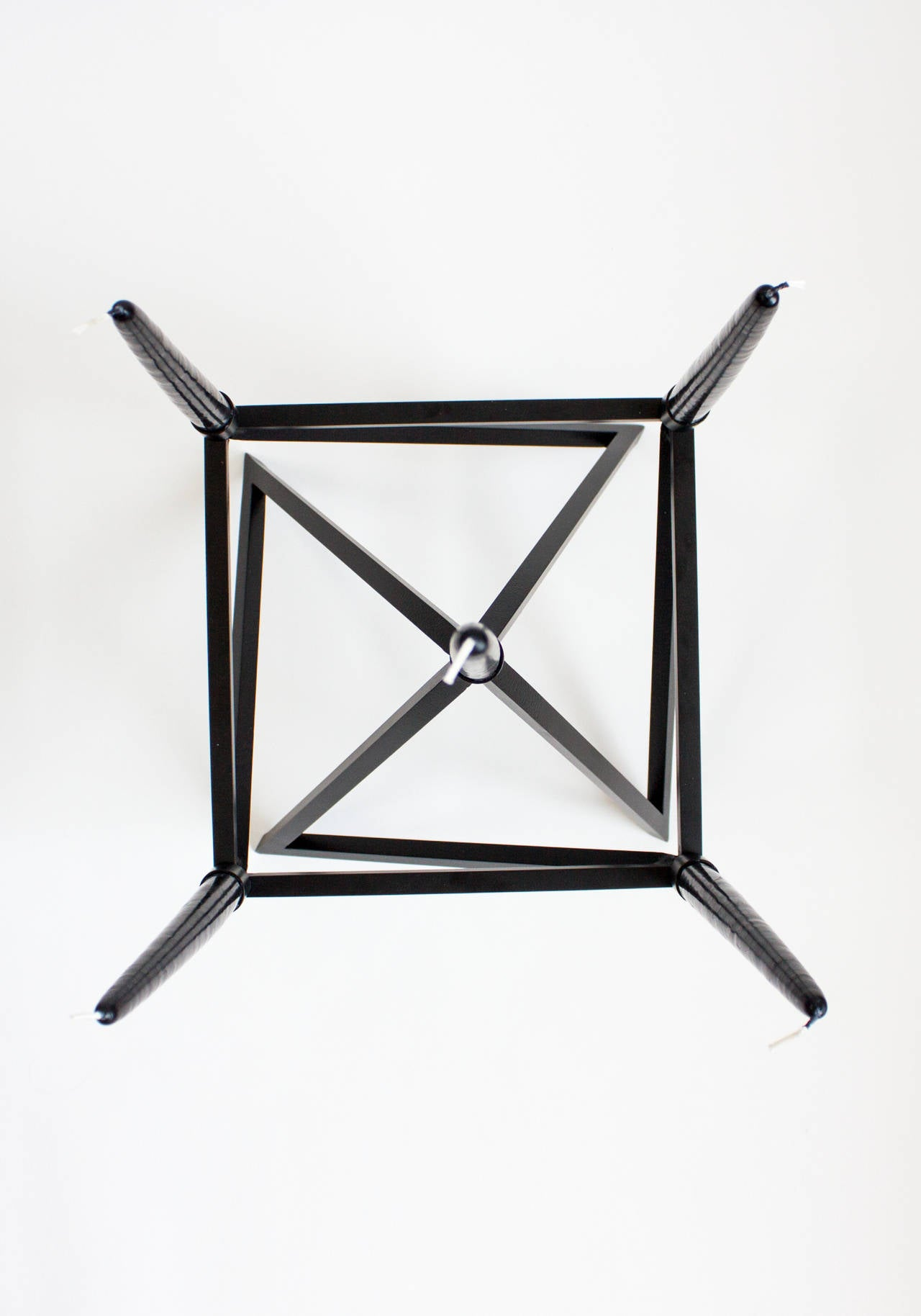 Contemporary Black 'Pagan' Star Candelabra by Material Lust, 2016 6