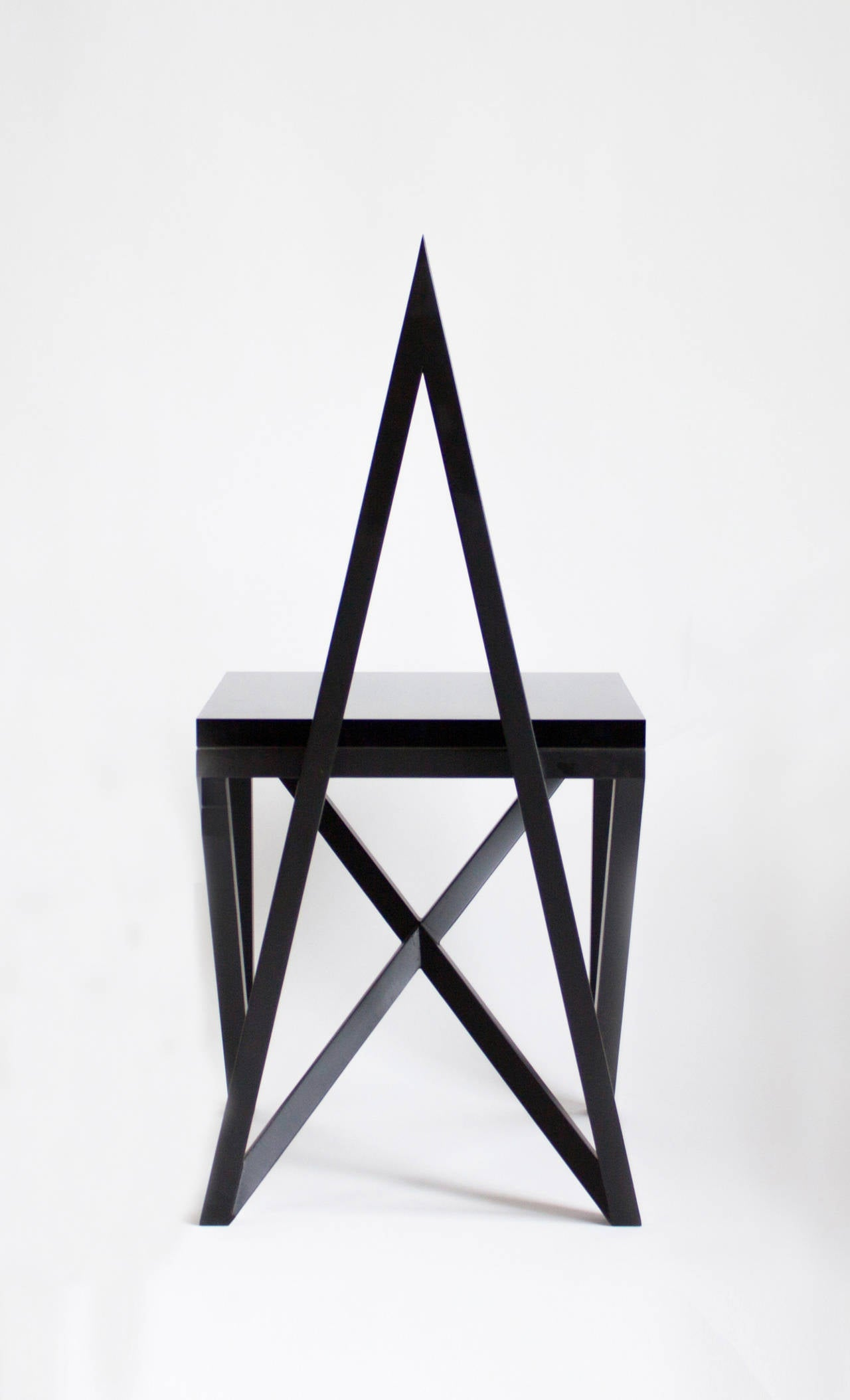 Lucite Contemporary 'Pagan' Star Side Chair by Material Lust, 2014