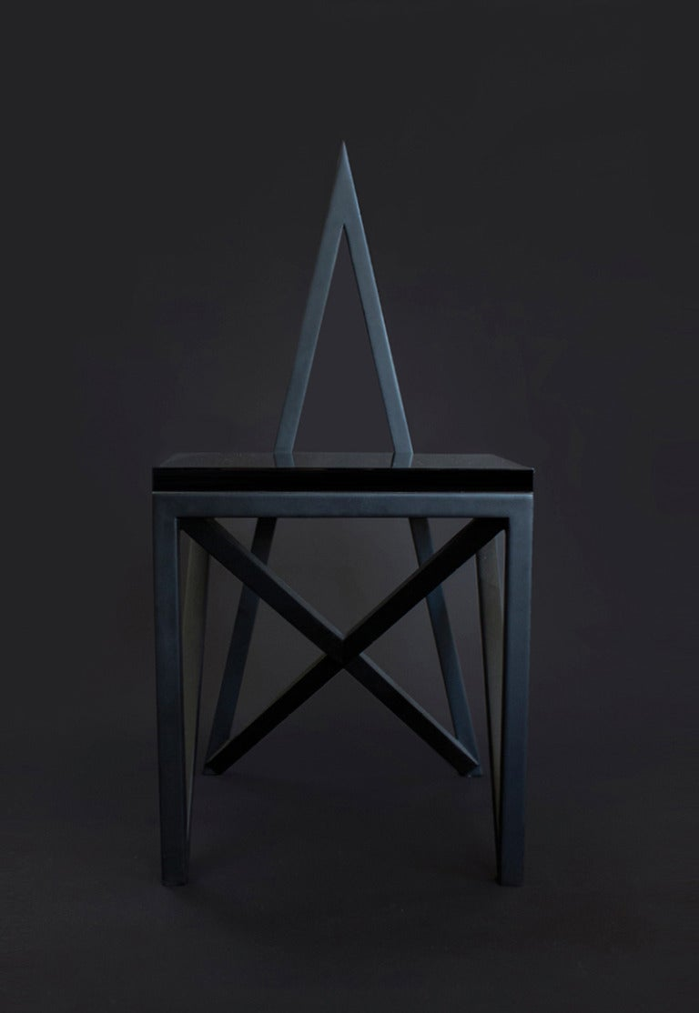 Art Deco Contemporary 'Pagan' Star Side Chair by Material Lust, 2014