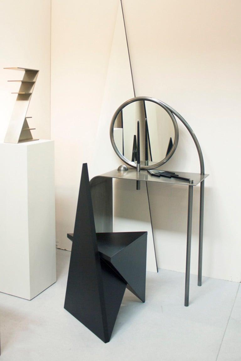 Steel Contemporary 'Retort' Vanity by Material Lust, 2014