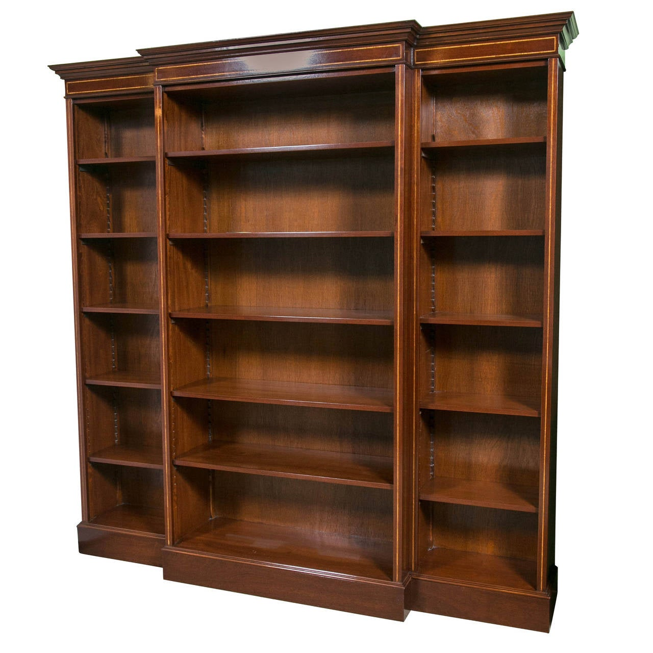 Big bookshelf th century style large bookcase at