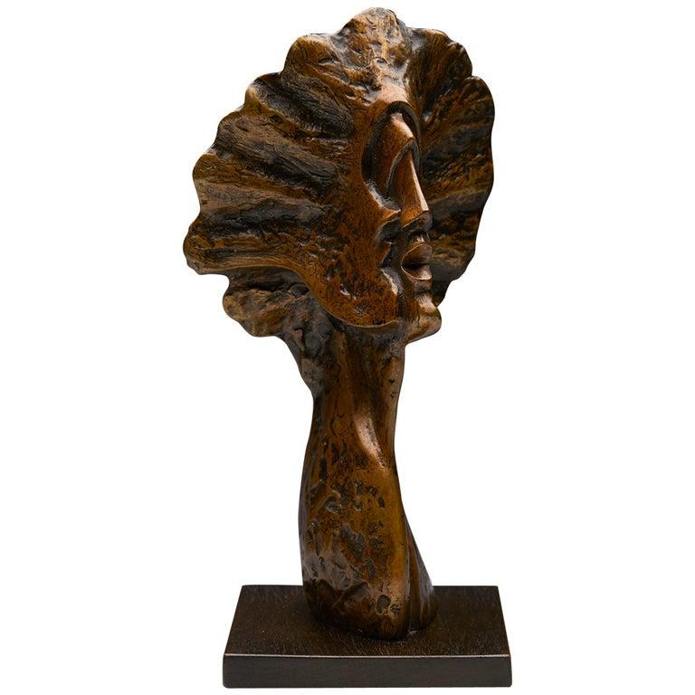 Profile Heads, Limited Edition Bronze Sculpture by John Farnham For Sale