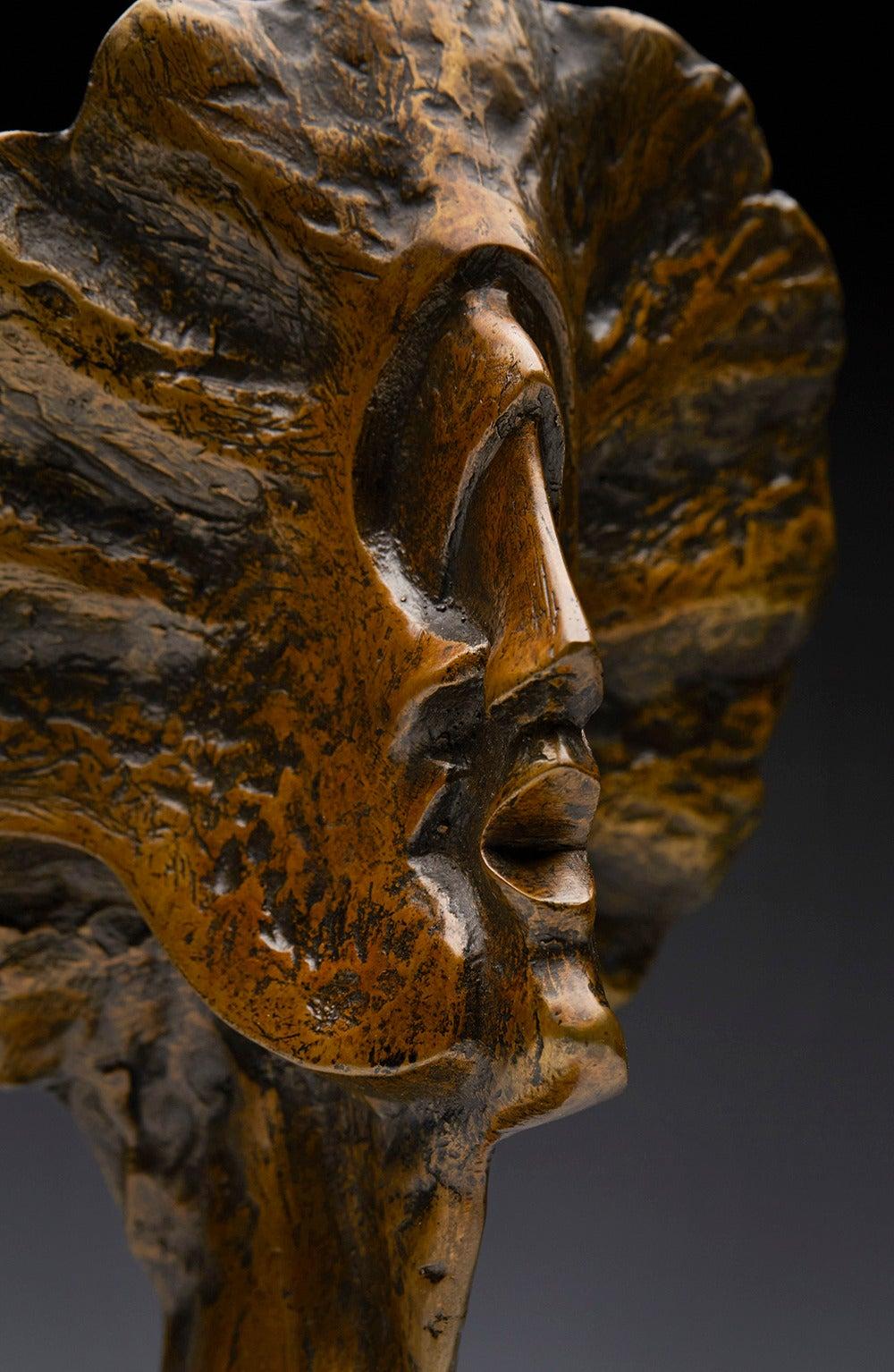 Profile Heads, Limited Edition Bronze Sculpture by John Farnham In Excellent Condition For Sale In Bishop's Stortford, Hertfordshire