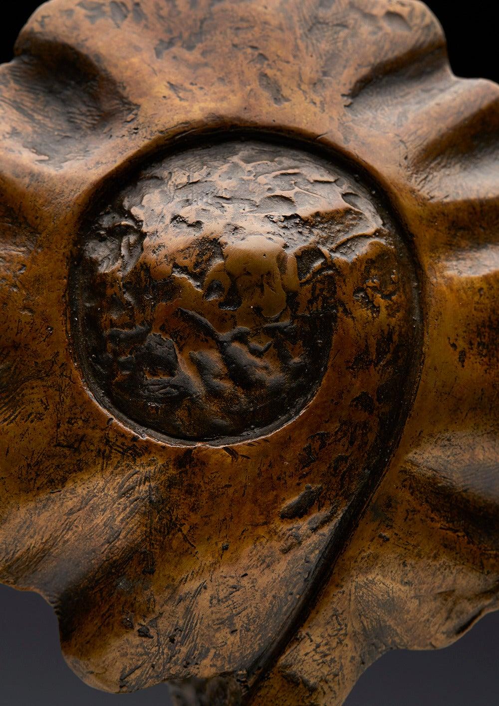 Profile Heads, Limited Edition Bronze Sculpture by John Farnham For Sale 2