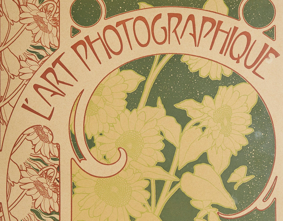 L'art Photographique Cover by Alphonse Mucha, 1899 In Good Condition For Sale In Bishop's Stortford, Hertfordshire