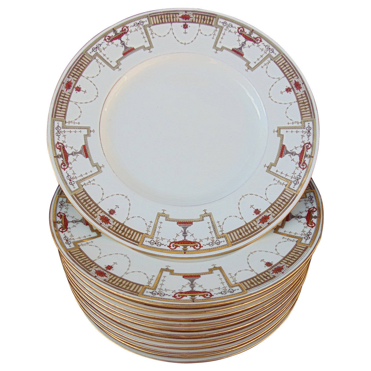 Antique Minton Porcelain Plates For Sale  sc 1 st  1stDibs & Tiffany and Co. Antique Minton Porcelain Plates For Sale at 1stdibs