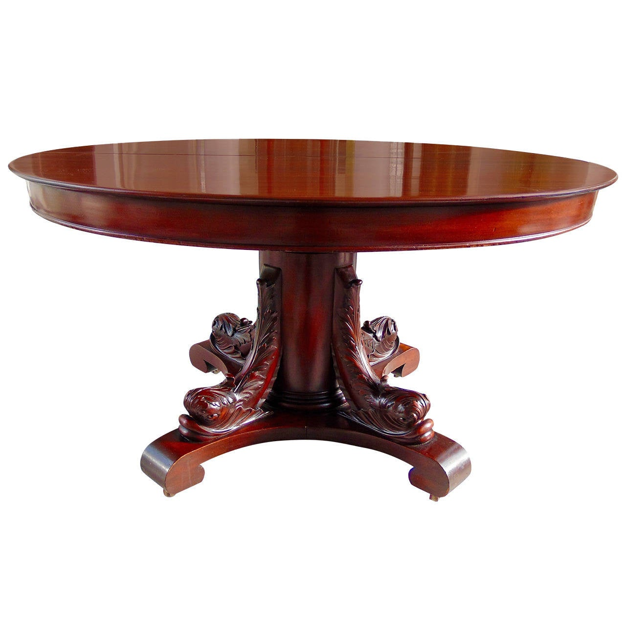 19th Century American Solid Mahogany Dolphin Base  : 2337282l from www.1stdibs.com size 1280 x 1280 jpeg 94kB