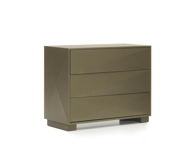 For Sale: Brown (Kaki) Diamond Dresser in Pop Colors by Normal Studio and Tolix 2
