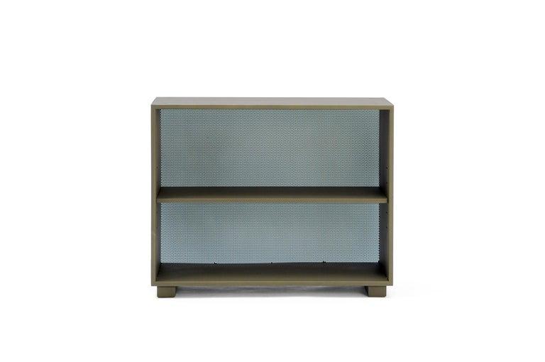 For Sale: Brown (Kaki) Diamond Shelf in Pop Colors by Normal Studio & Tolix 2