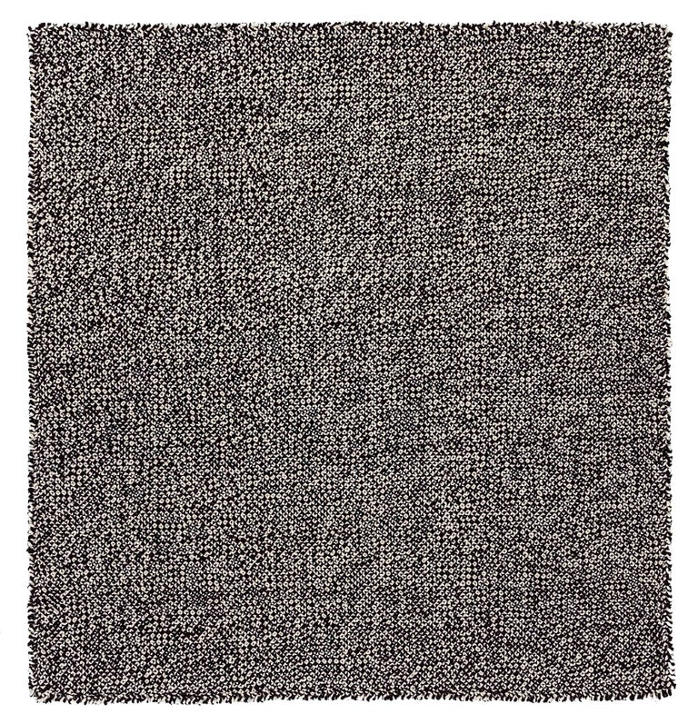 For Sale: undefined (Black) GAN Small Waan Rug in Wool