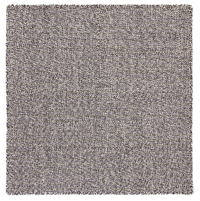 For Sale: undefined (Blue) GAN Small Waan Rug in Wool