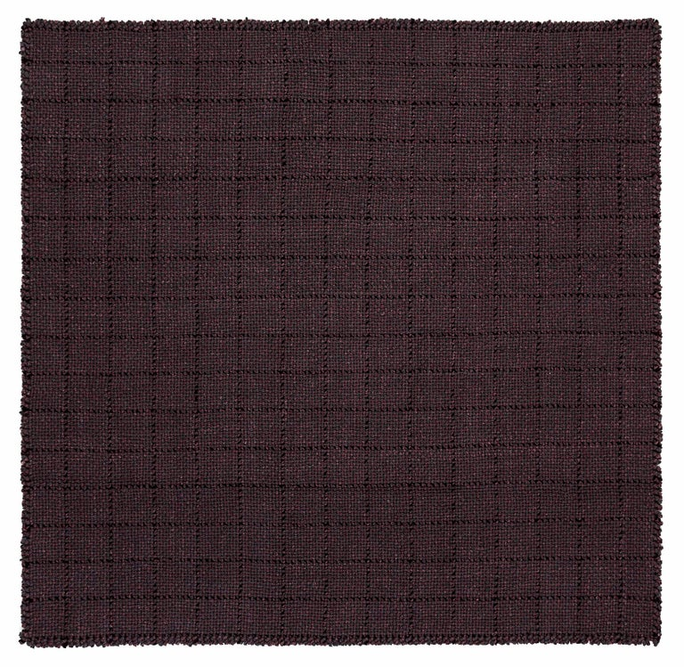 For Sale: undefined (Red) GAN Small Waan Rug in Wool