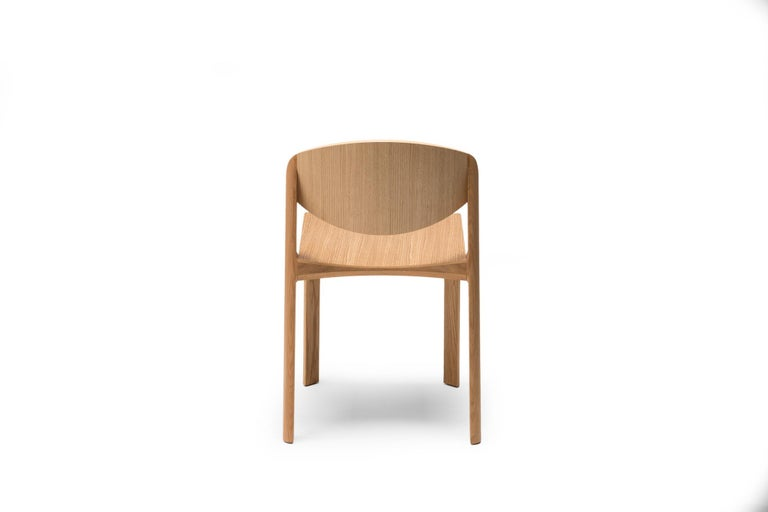 For Sale: Brown (6311) Established & Sons Mauro Chair by Mauro Pasquinelli