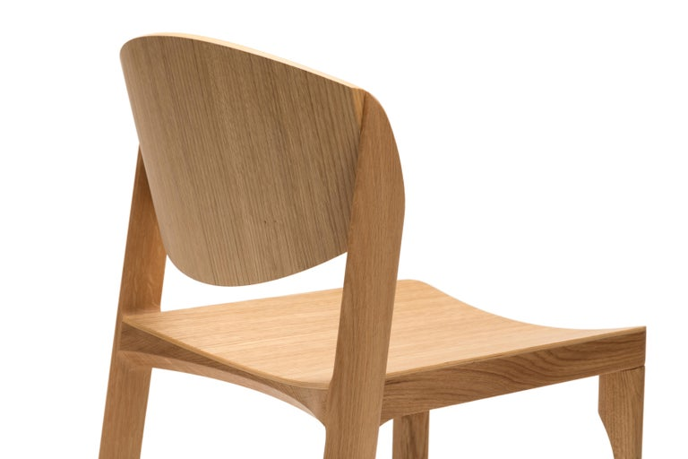 For Sale: Brown (6311) Established & Sons Mauro Chair by Mauro Pasquinelli 3
