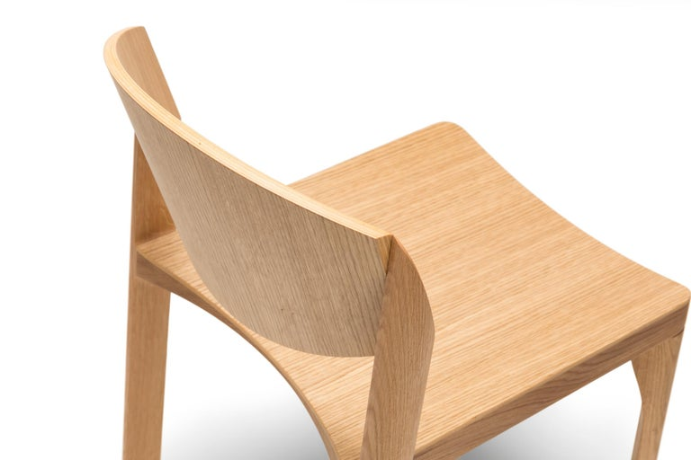 For Sale: Brown (6311) Established & Sons Mauro Chair by Mauro Pasquinelli 4