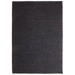 Nomad Black Wool Rug by Nani Marquina & Ariadna Miquel, 1stdibs New York