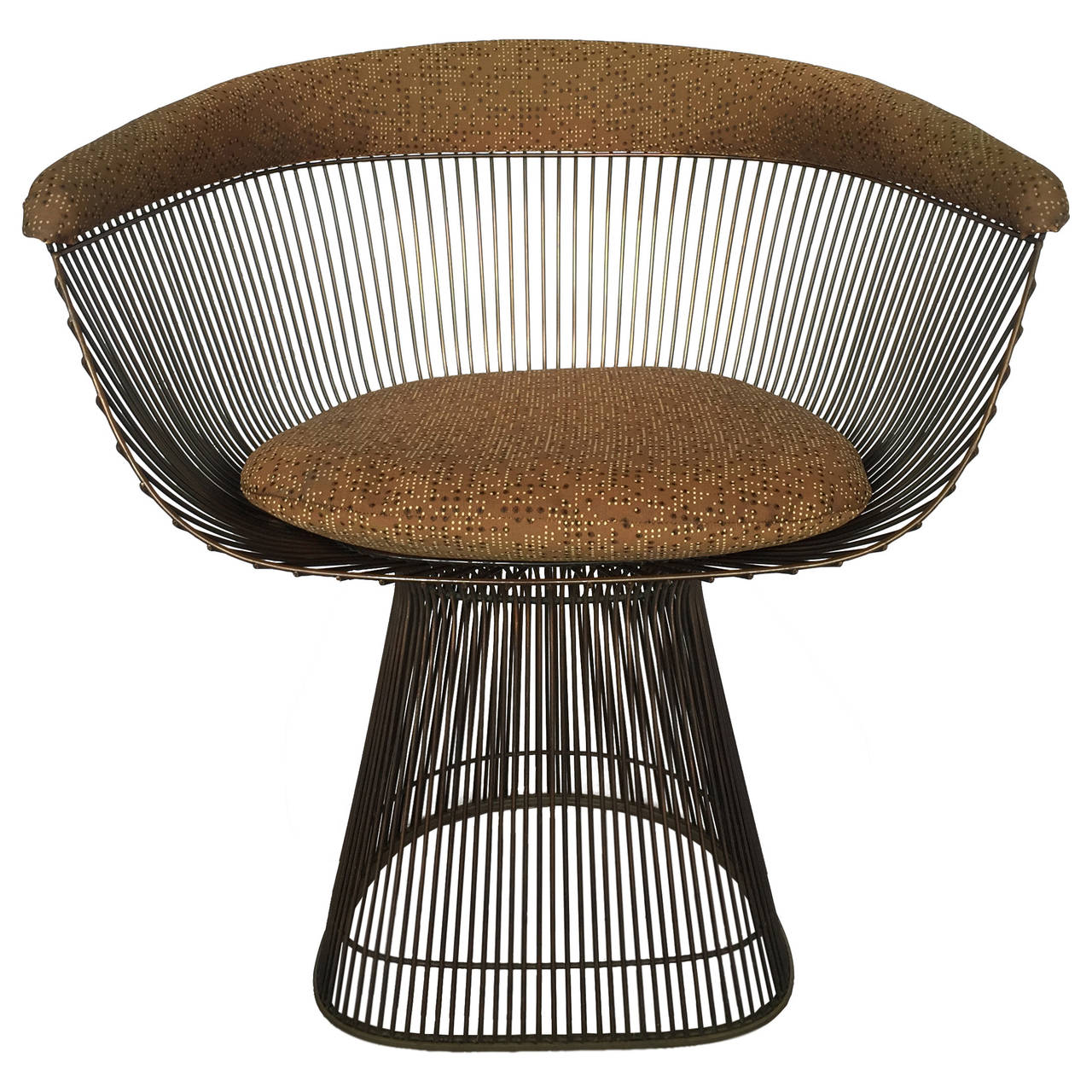 this warren platner bronze wire dining chairs is no longer available