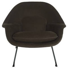 Loro Piana Alpaca Wool 'Womb' Chair by Eero Saarinen for Knoll Associates