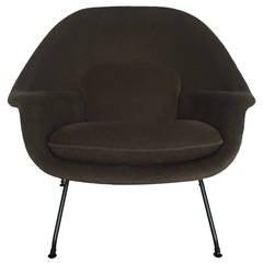 Loro Piana Alpaca Wool 'Womb' Chair by Eero Saarinen for Knoll Associates