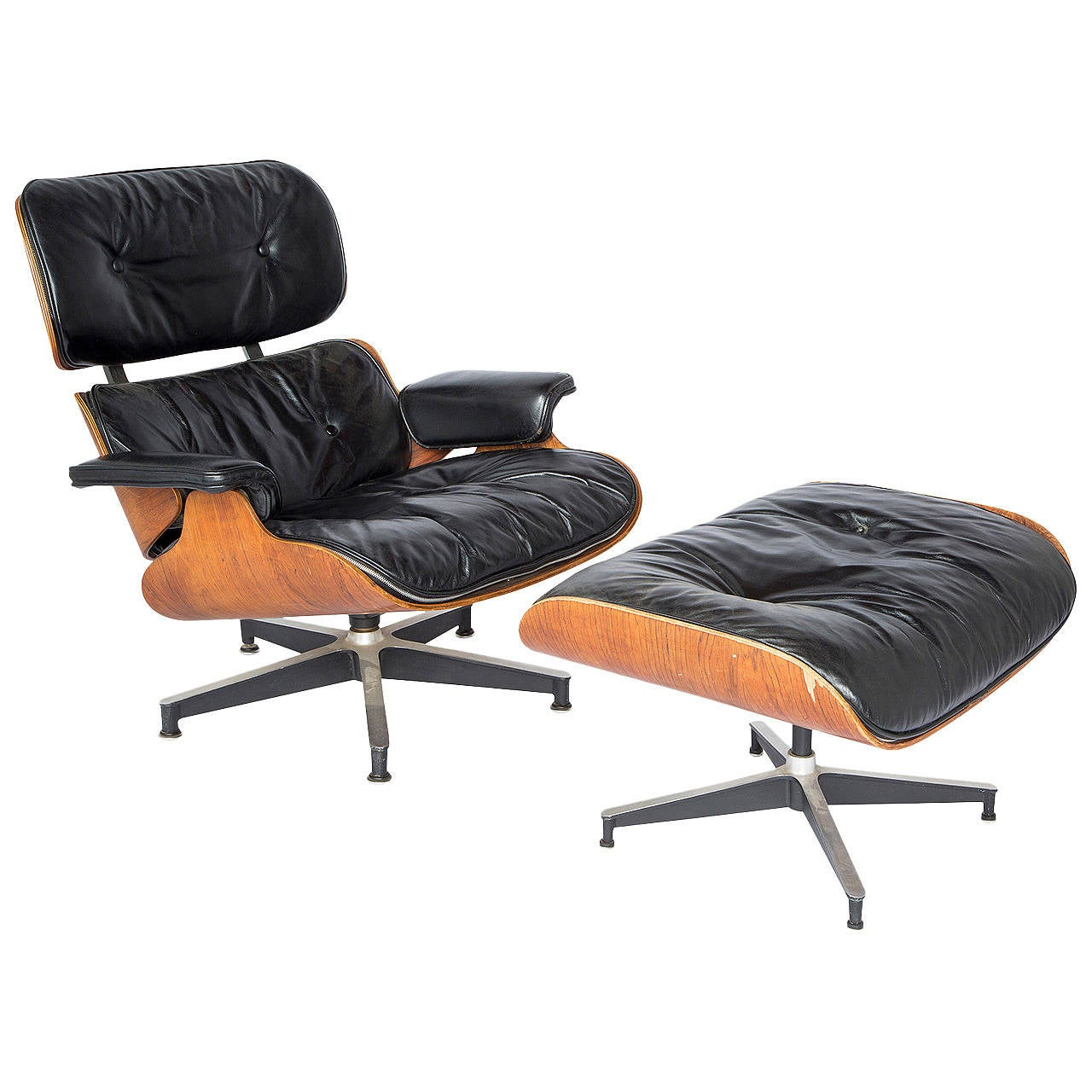 eames lounge chair and ottoman for sale at 1stdibs. Black Bedroom Furniture Sets. Home Design Ideas