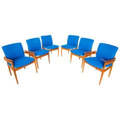 set of 4 j stuart clingman dining chairs for widdicomb at 1stdibs