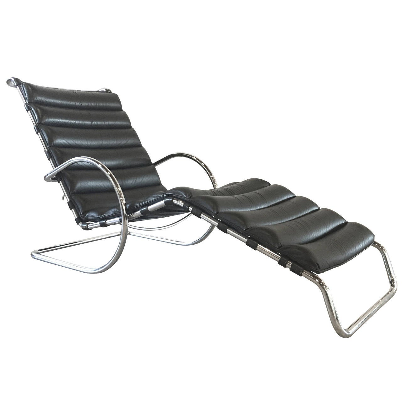 Ludwig mies van der rohe chaise lounge chair on sale at for Black friday chaise longue