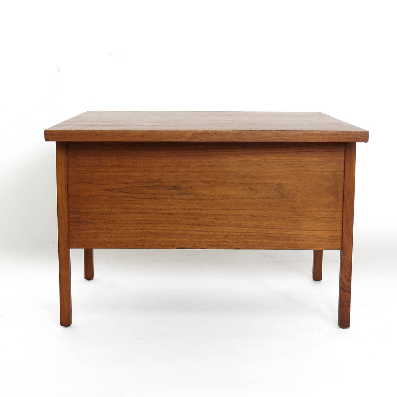 John Keal Coffee Table With Folding Side Tables At 1stdibs