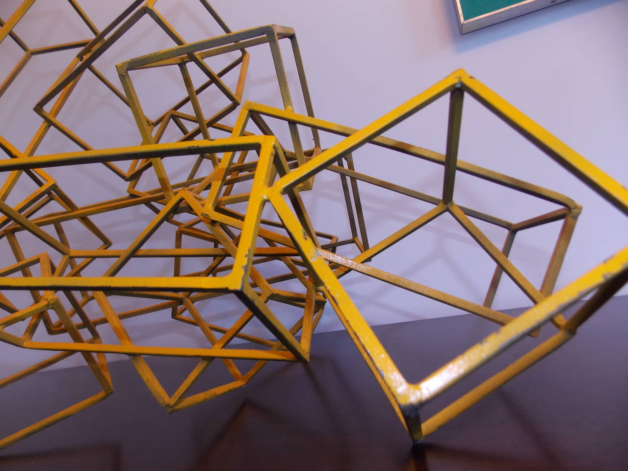 Vintage Modern Art Abstract Geometric Sculpture at 1stdibs