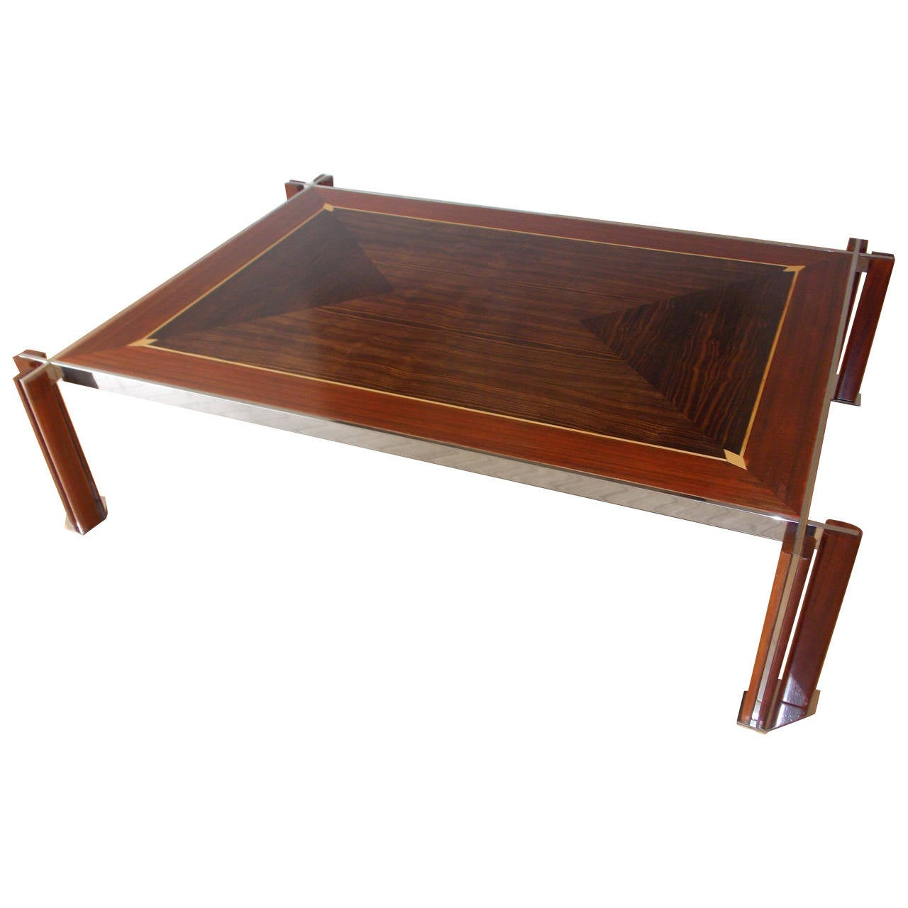 chic italian design coffee table attributed to saporitti