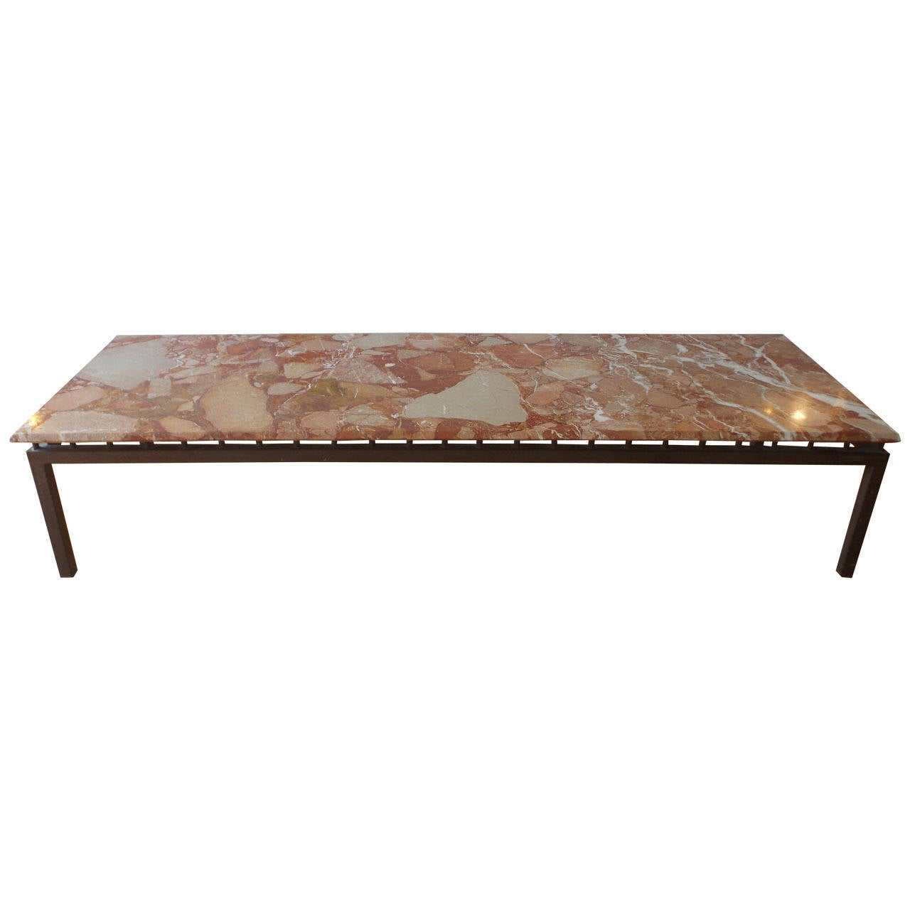 Vintage Marble Coffee Table As Seen In William Haines 39 Own Home Interior At 1stdibs