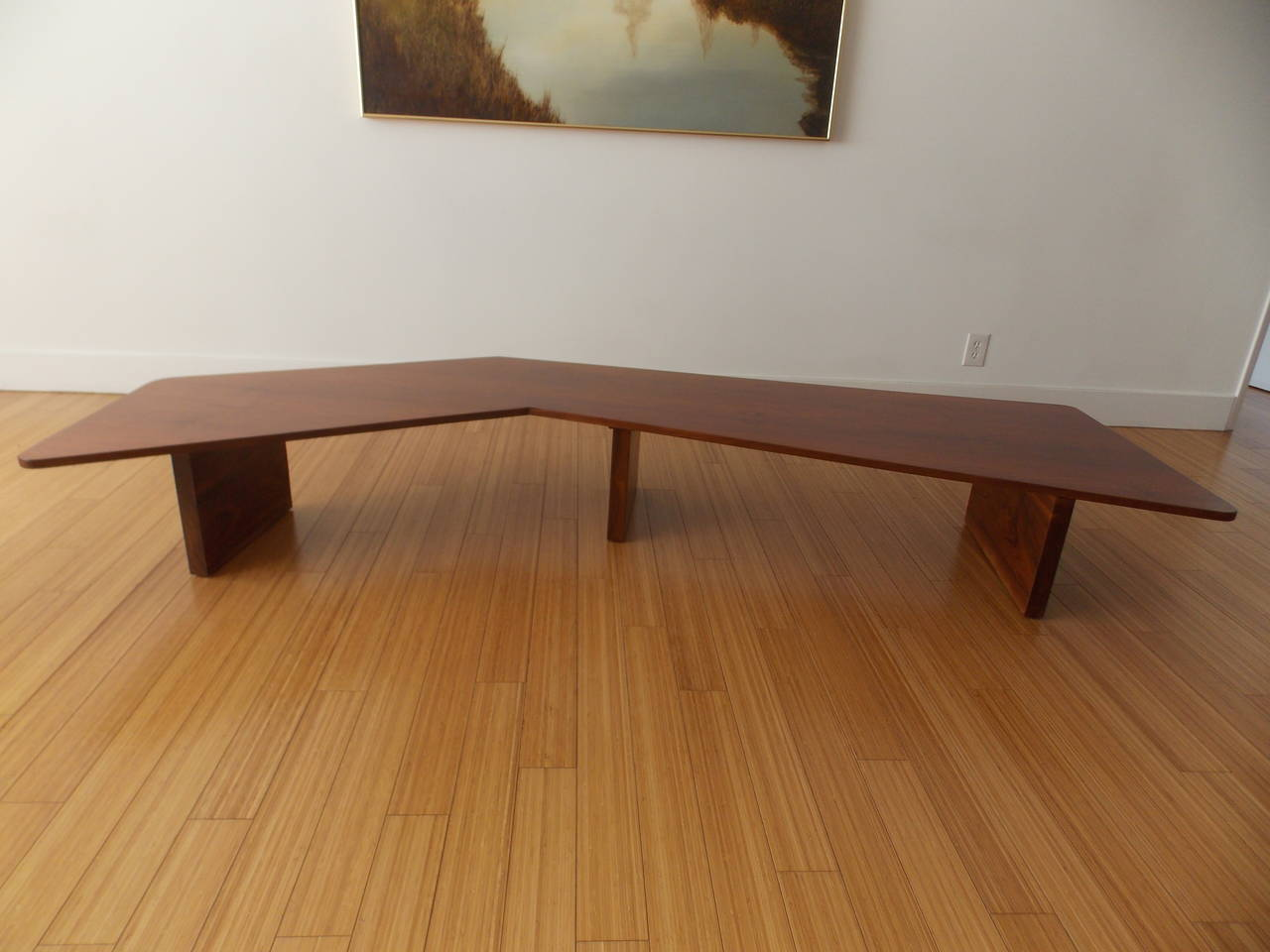 Long Studio Design Coffee Table For Sale At 1stdibs