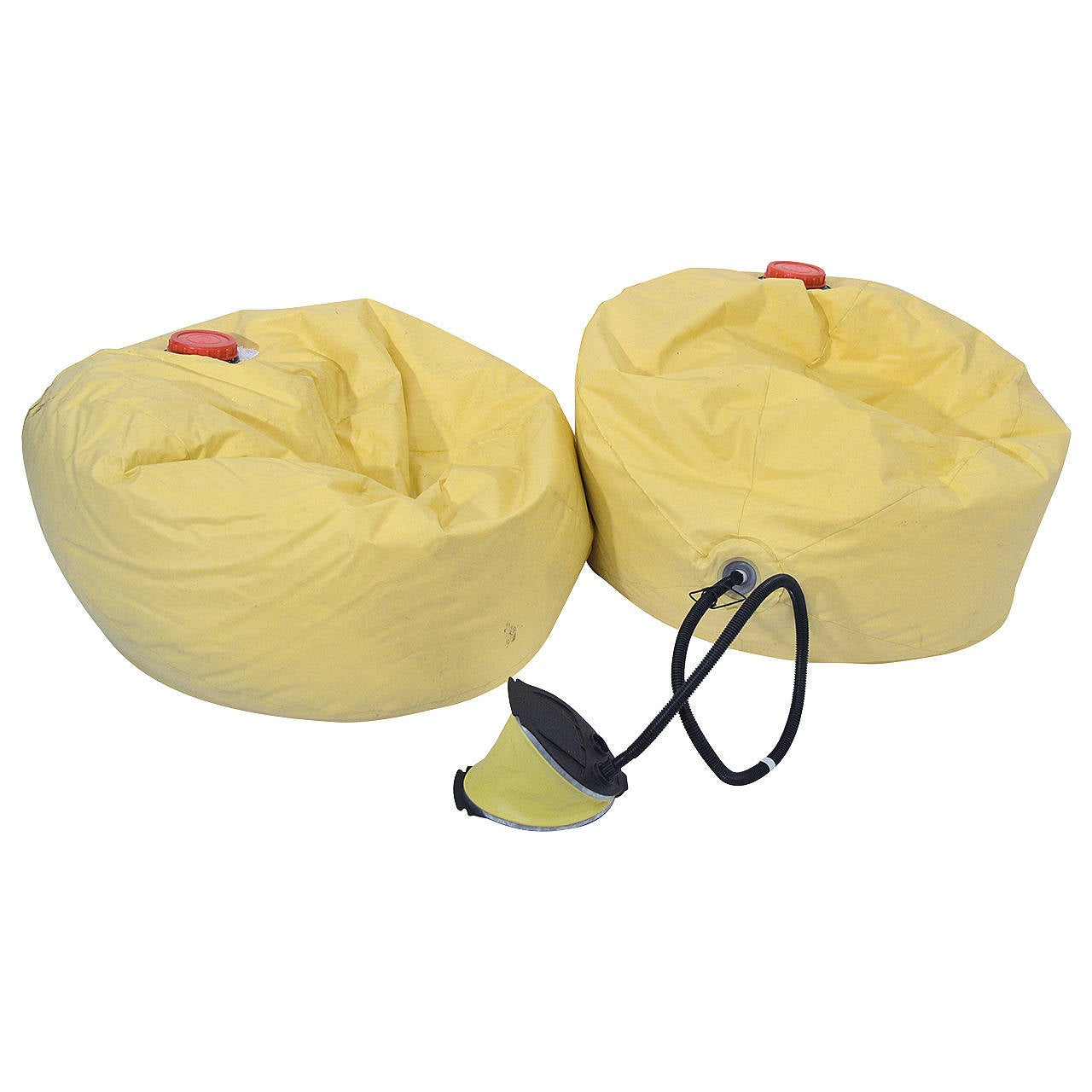 Pictures of bean bag chairs - Pair Of Bean Bag Chairs Memo By Ron Arad 1