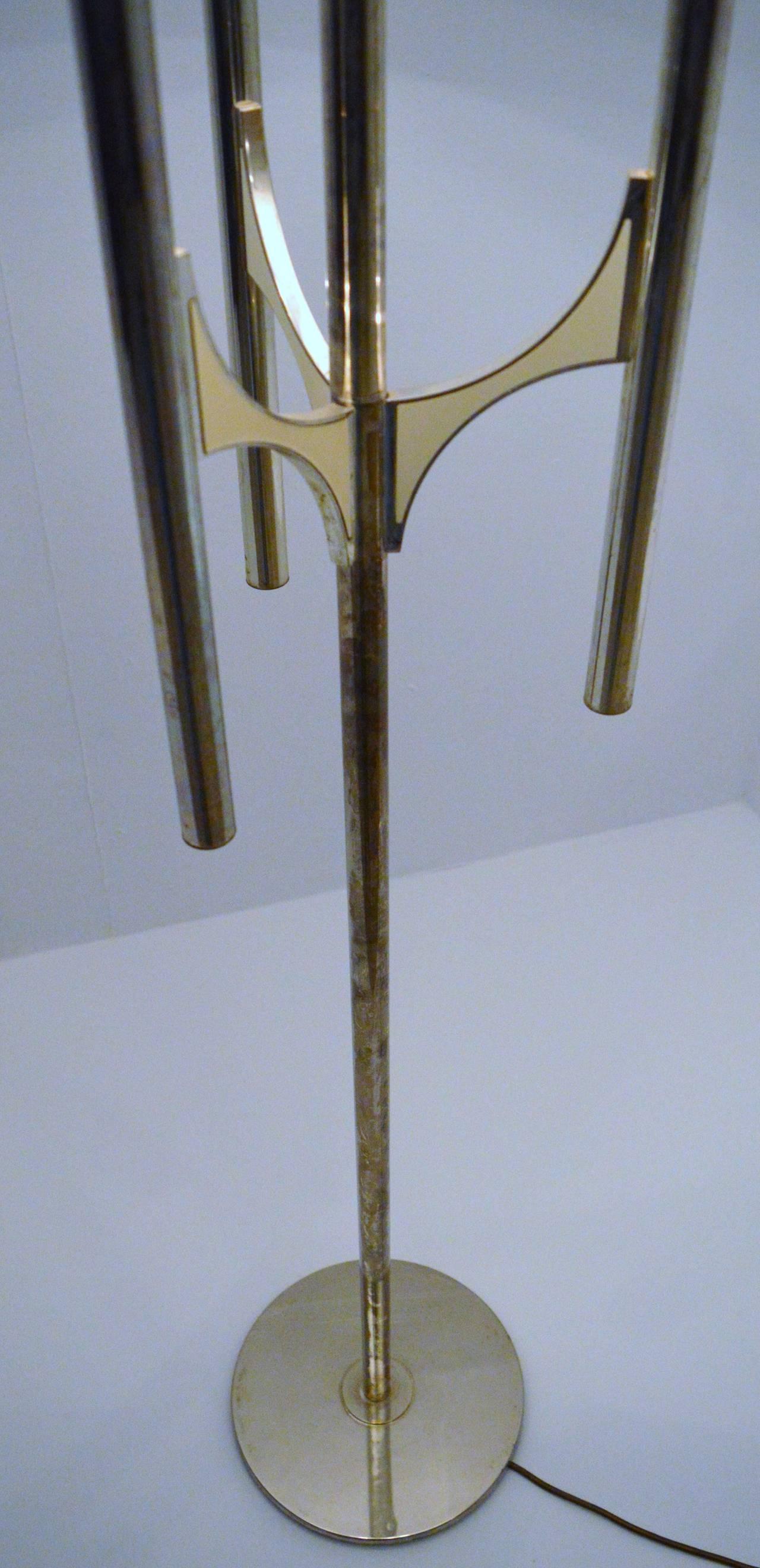 Floor lamp by gaetano sciolari 1970s for sale at 1stdibs for 1970s floor lamps