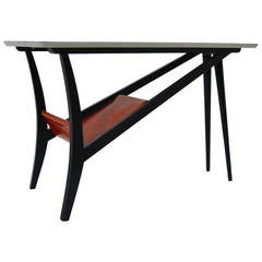 Mid-Century Belgian Coffee Table in the Manner of Emiel Veranneman