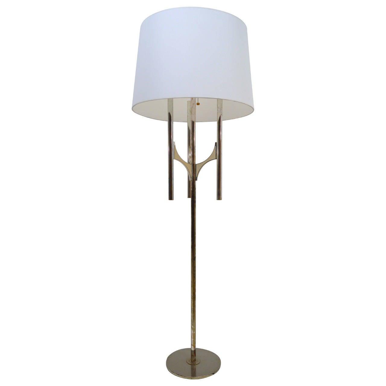 Floor lamp by gaetano sciolari 1970s at 1stdibs for 1970s floor lamps
