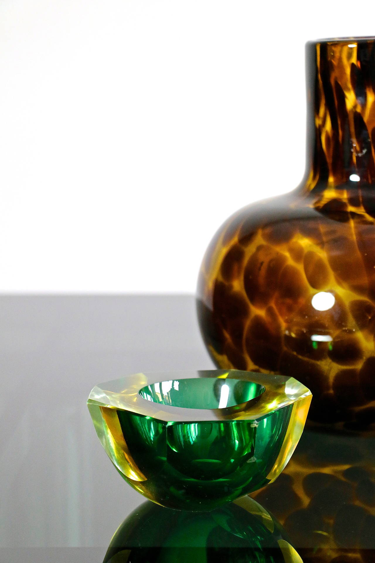 1960s murano glass ashtray at 1stdibs. Black Bedroom Furniture Sets. Home Design Ideas