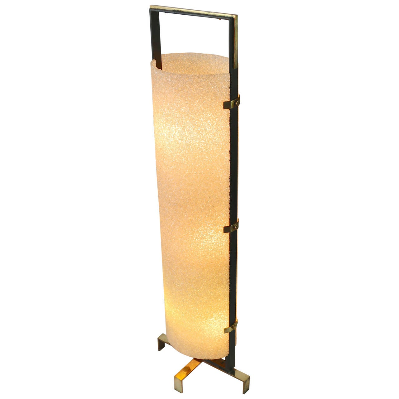 1970s honeycombed resin floor lamp for sale at 1stdibs for 1970s floor lamps