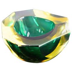 1960s Murano Glass Ashtray