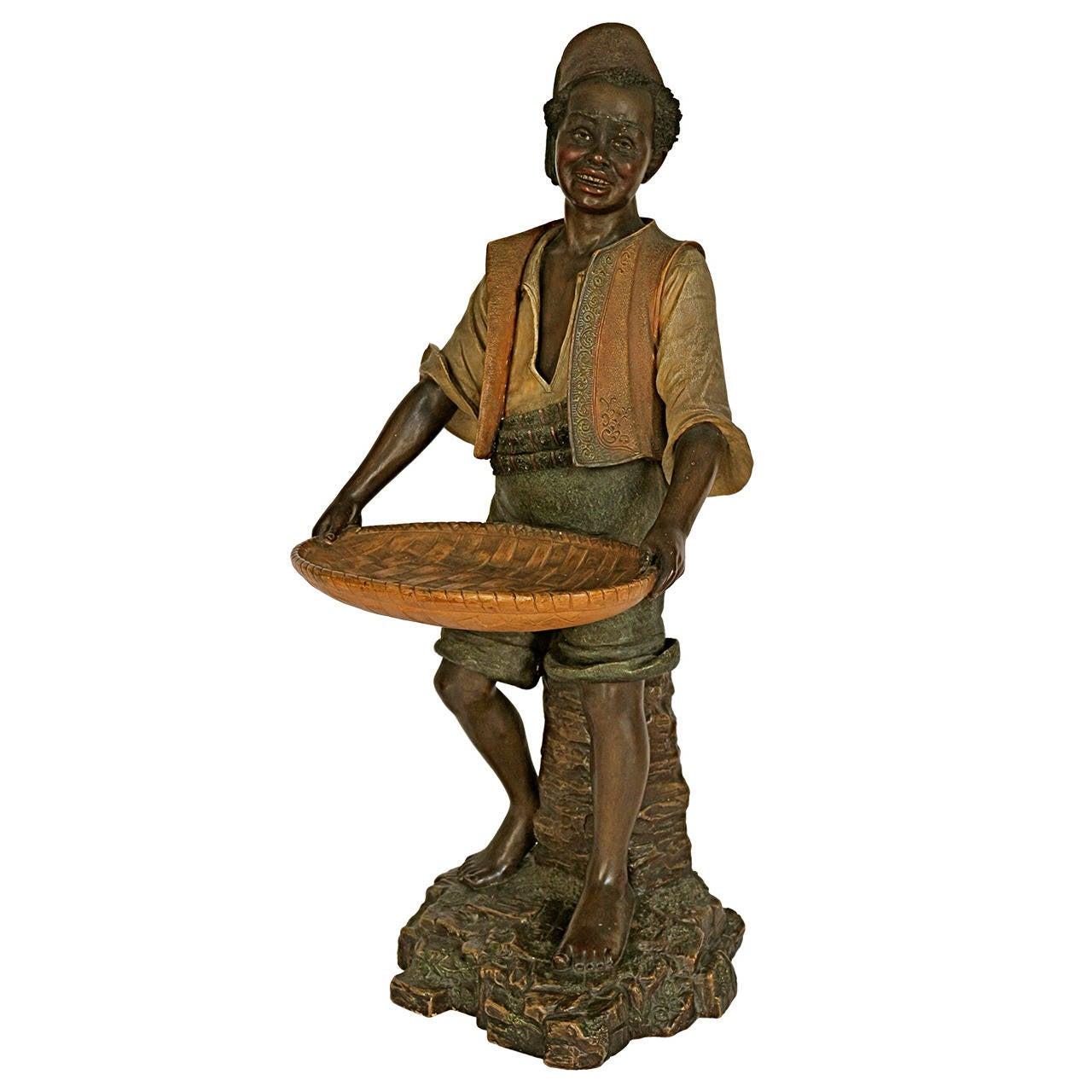 Terracotta Figure by Bernhardt Bloch