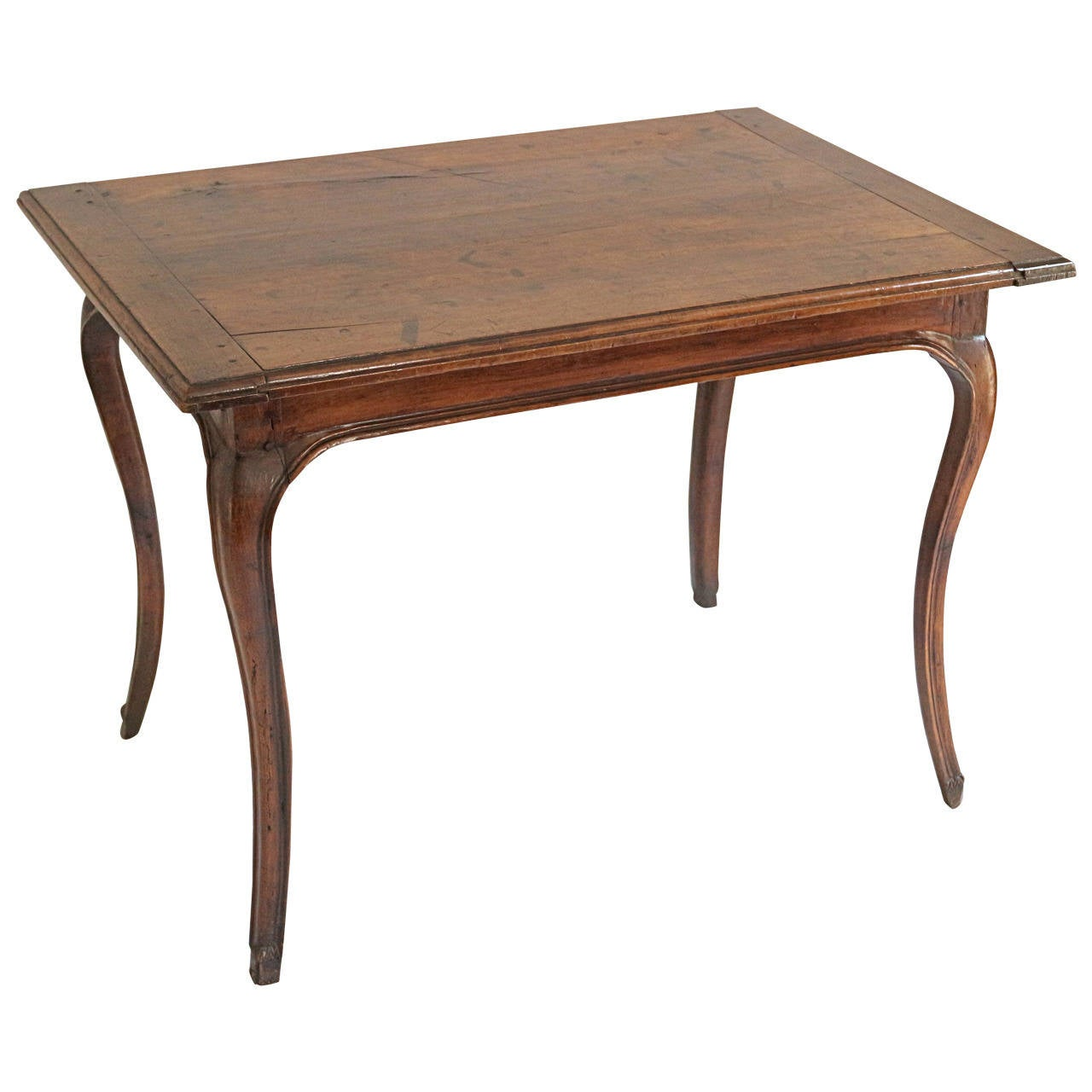 French 18th century table in fruitwood at 1stdibs for Table th width ignored