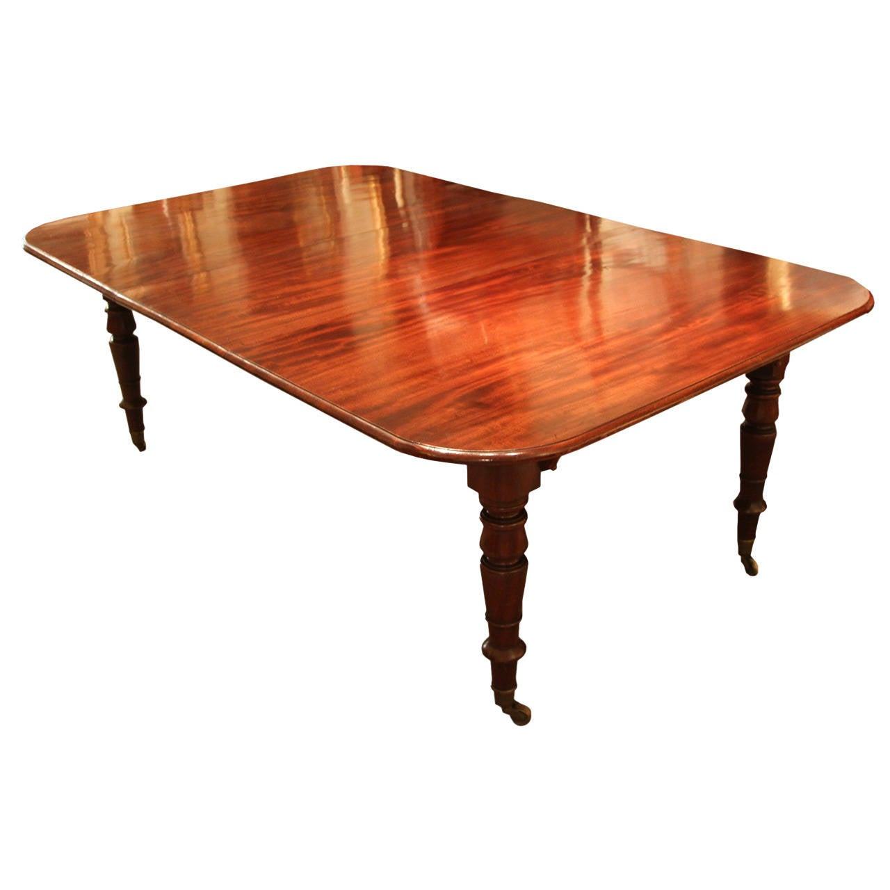 good late regency dining table at 1stdibs