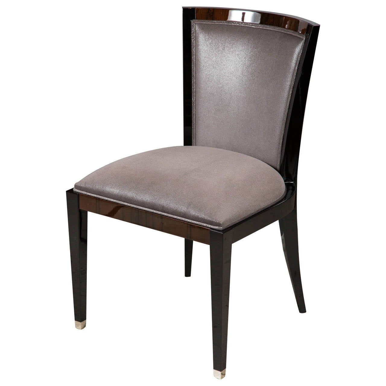 Art Deco Style Dining Or Side Chair At 1stdibs
