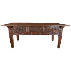 17th Century Spanish Library Table