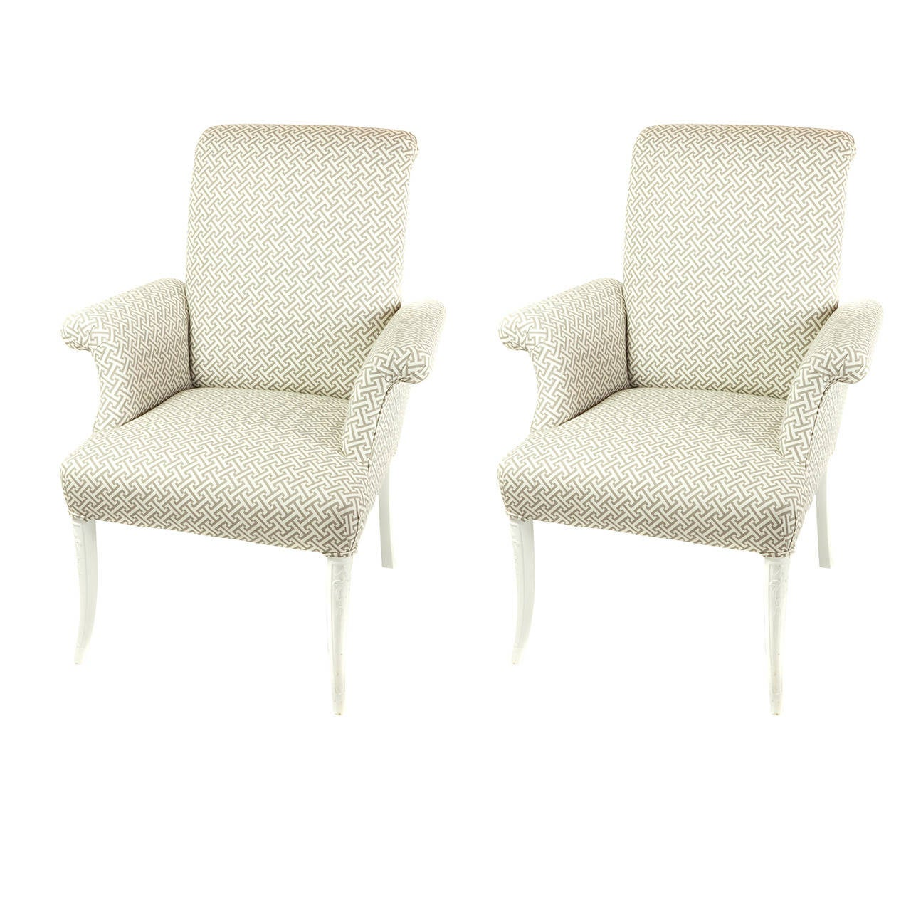 Hollywood Regency Chairs For Sale