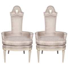 Pair of Vintage Regency Armchairs