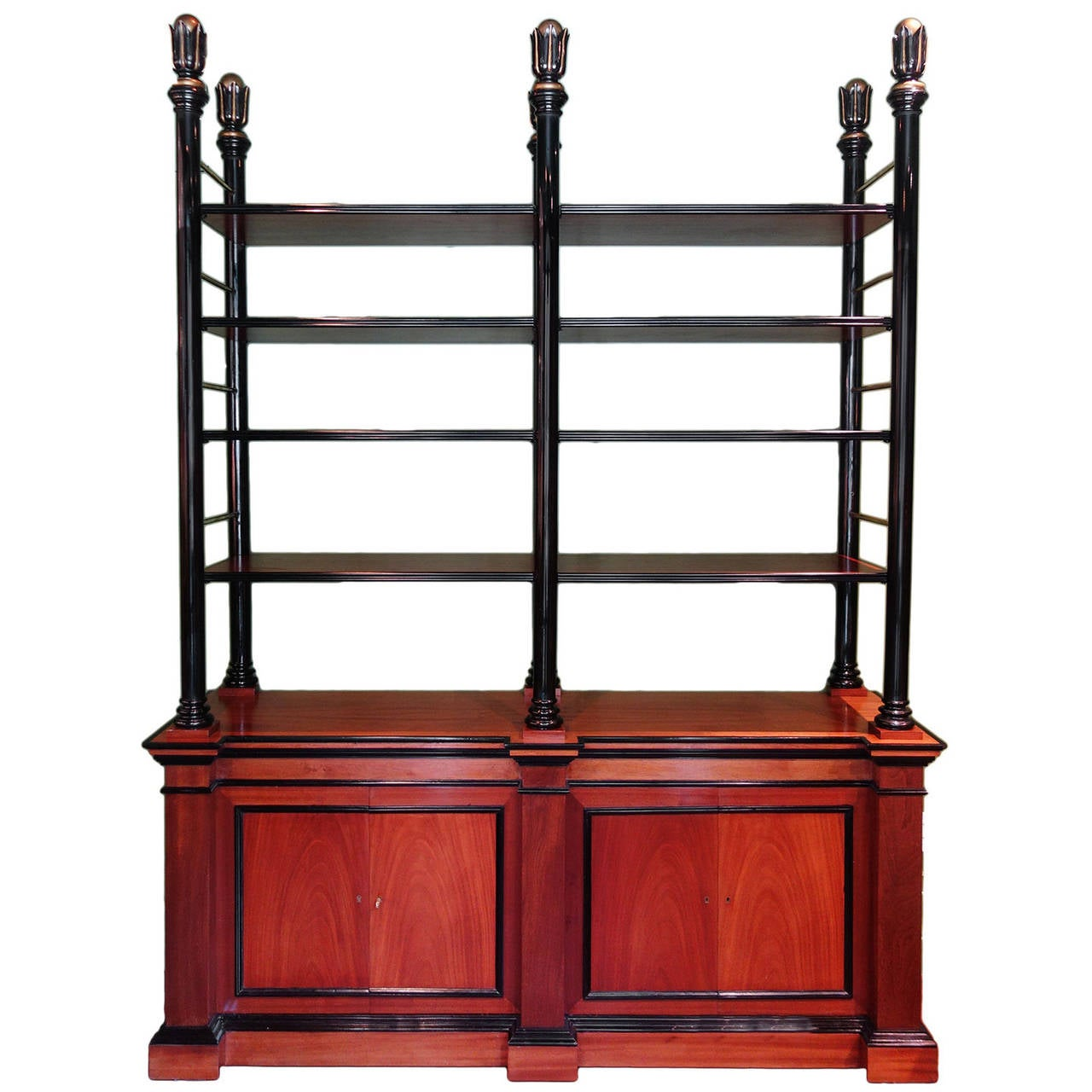 Vintage french etagere bookcase at 1stdibs - Etagere cases carrees ...