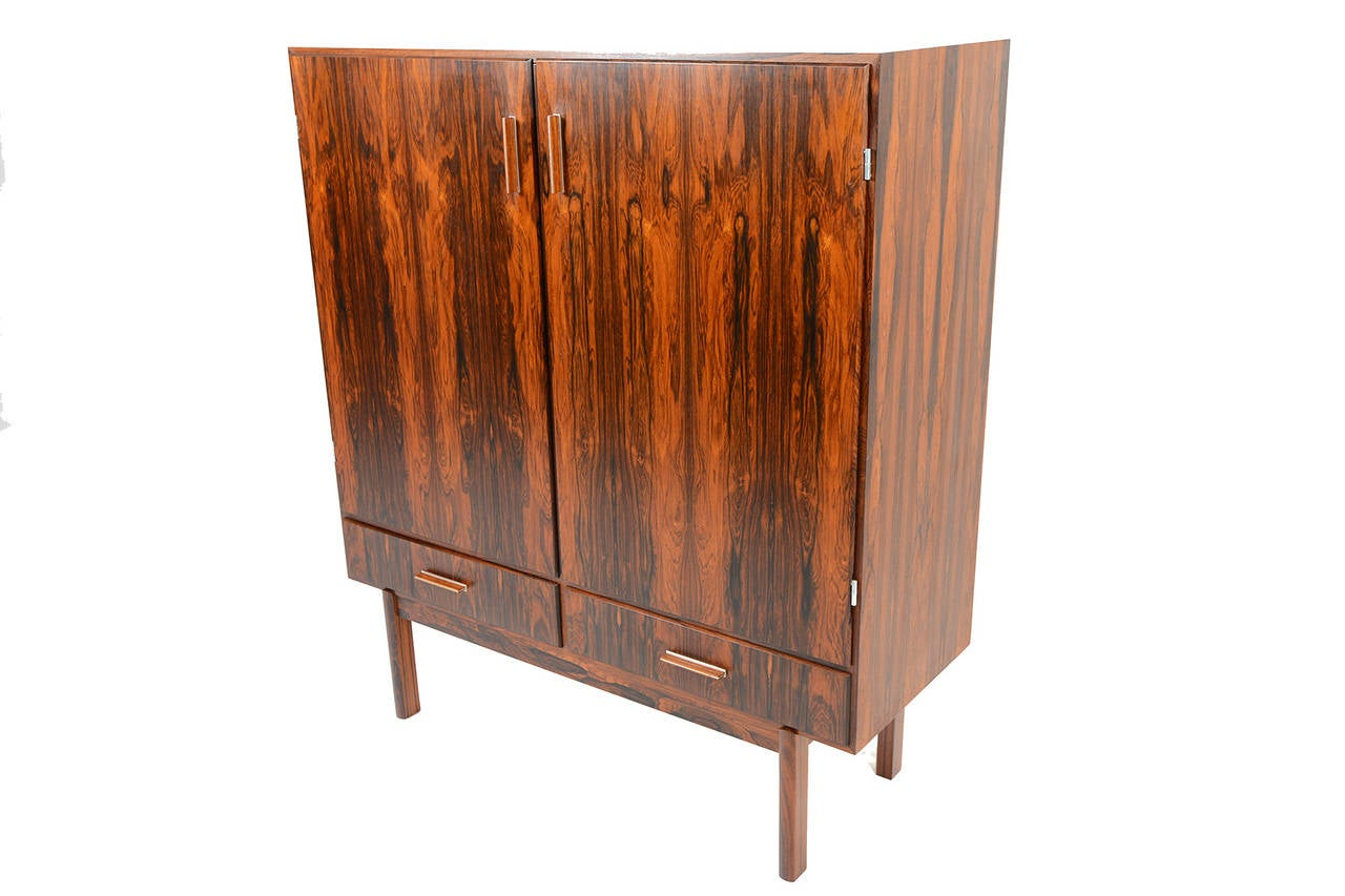 Axel Christensen Rosewood Cupboard Or Bar At 1stdibs