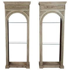 Pair of 19th Century French Bookcase Fixtures